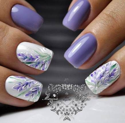 69 ideas nails green white simple nails with images