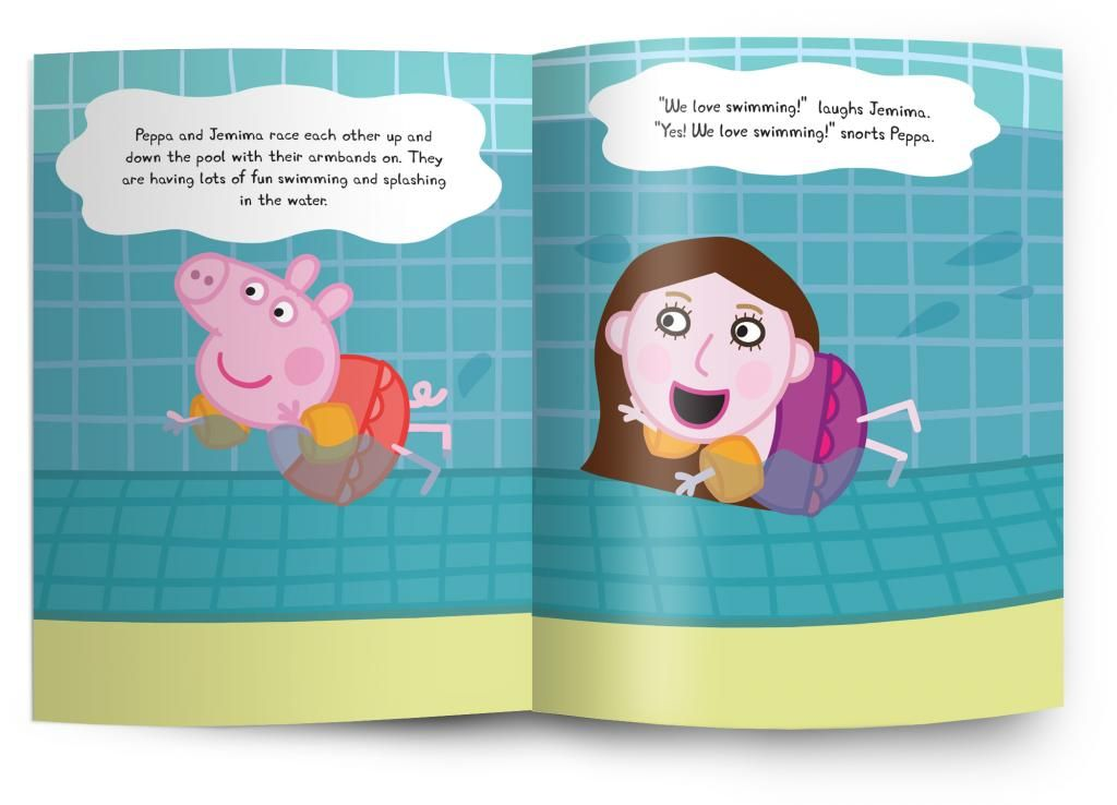 Personalized Peppa Pig Books Starring Your Child Favorite