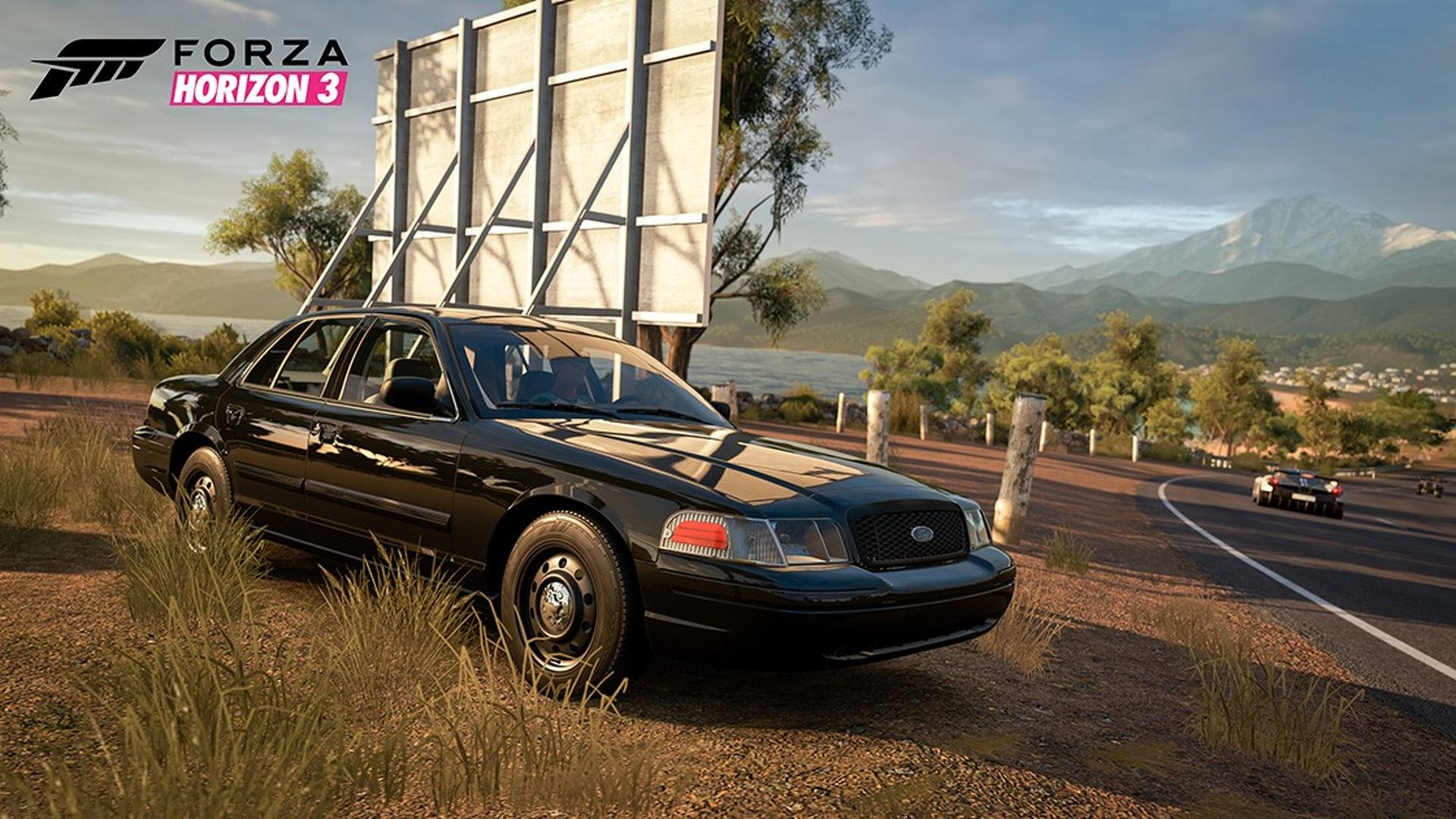 Now you can drive a Ford Crown Vic cop car in Forza Horizon