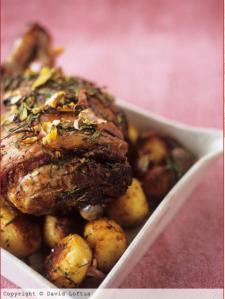 Jamie Oliver Roast Leg Lamb Recipes #Tastebudladies #Legoflamb