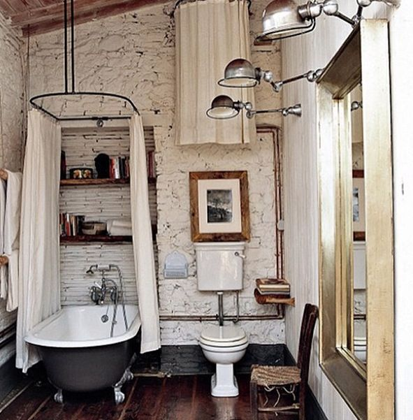 Oval shower curtains always do the trick | INTERIORS | Pinterest ...
