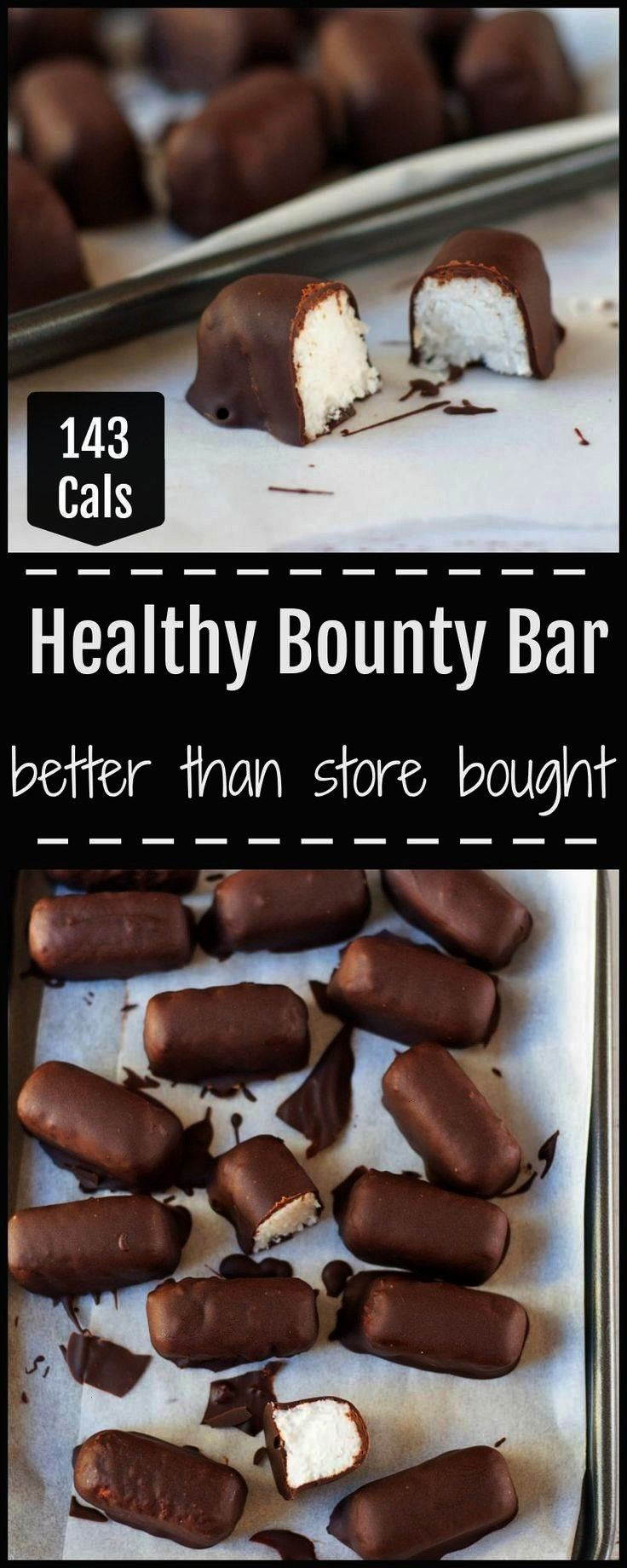 Bars, Better Than Store Bought!        These sugar free healthy bounty bars are naturally sweeten..
