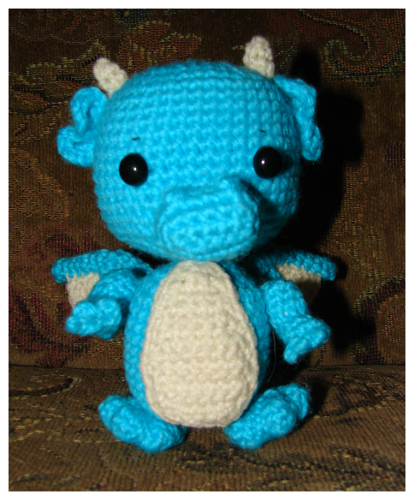 Dragon Amigurumi (with pattern) - CROCHET | Crafting ~ Crochet ...