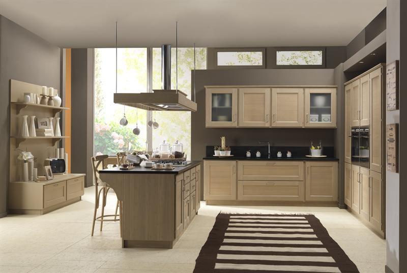 Cucina legno naturale   Casa   Arredamento, Legno naturale e ...