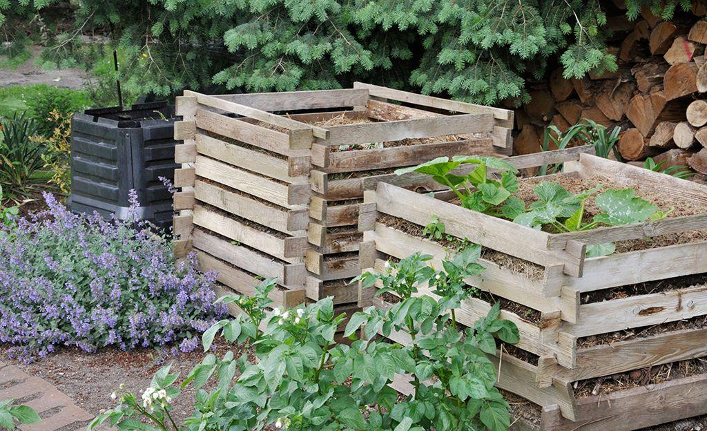 Komposter Kompost Naturnaher Garten Kompostieren