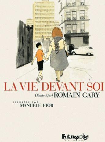 Couverture La Vie Devant Soi Bd Romain Gary Romain Premiere De Couverture