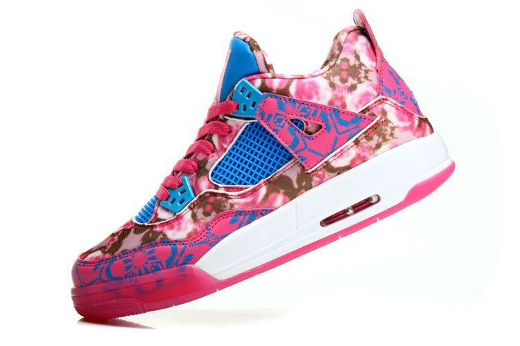 Jordan Shoes Online, Kids Jordan Shoes, Jordan 4, Air Jordans Women, Womens  Jordans Shoes, Nike Air Jordans, Pink Blue, Basketball Shoes, Shoes Outlet