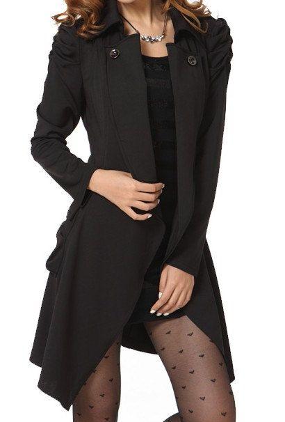 9b44af088ac2 Black  Light Coffee   Khaki   Apricot Cotton women coat long sleeve women  dress coat