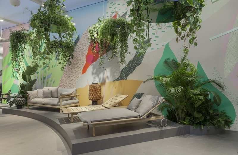 isaloni 2017 - strandkonzept bei dedon | design trends, Innenarchitektur ideen