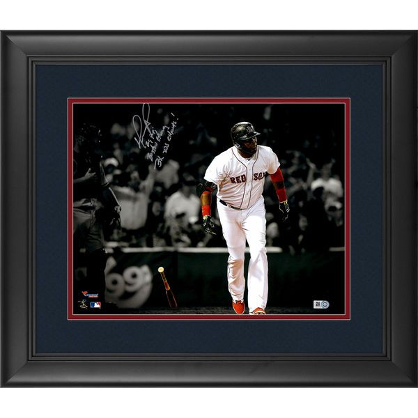 David Ortiz Boston Red Sox Fanatics Authentic Framed Autographed 11 ...