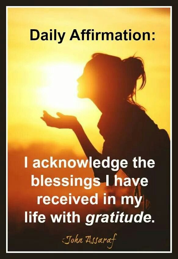 I am blessed....