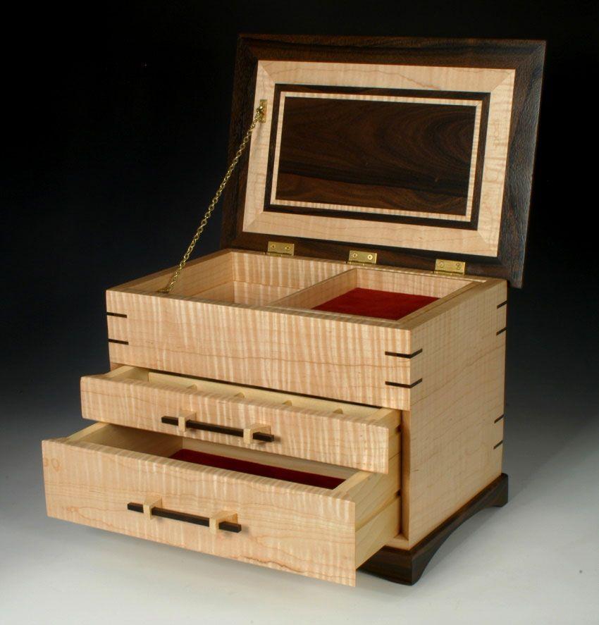 Jewelry Box Wood Jewelry Box Jewelry Box Plans Wooden Jewelry Boxes