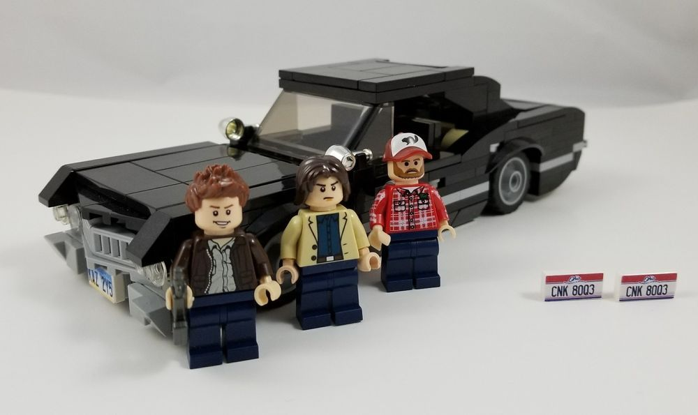 Lego SUPERNATURAL Instructions, Parts List, License Plates See ...