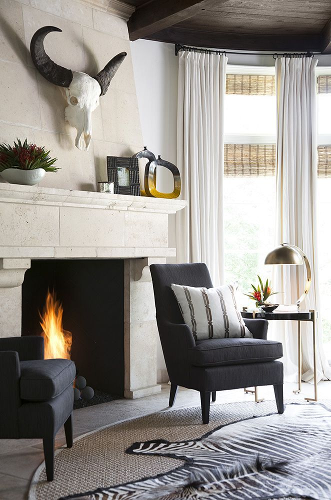 cow skull rockreach ranch in 2019 interior design living room rh pinterest com