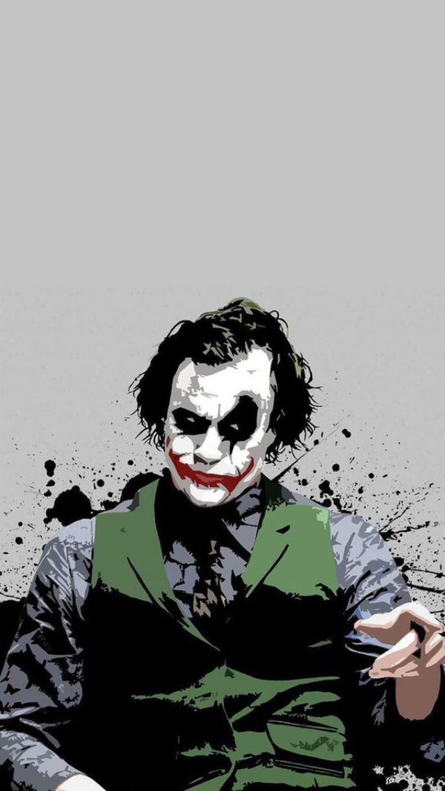 Heath The Joker Wallpaper Batman joker wallpaper, Joker