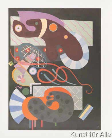 Wassily Kandinsky - Noeud Rouge