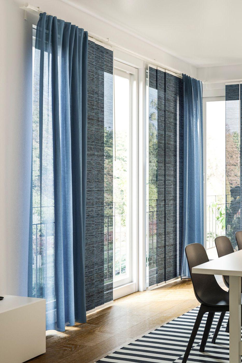 Sanftes Licht Im Esszimmer Mit Bodenlangen Vorhangen In 2020 Sanftes Licht Vorhange Haus