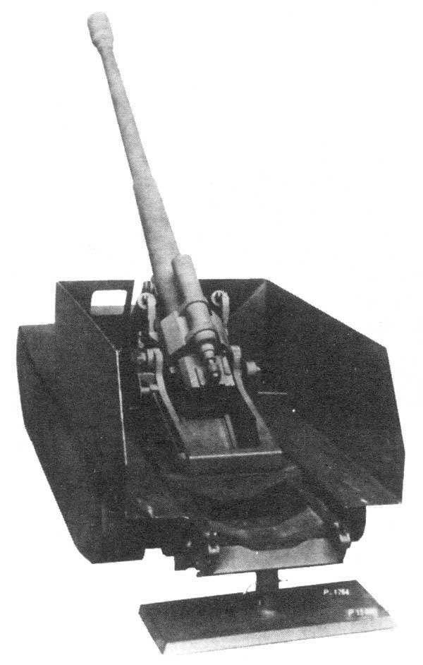Опытная немецкая САУ.  Решение о создании тяжелой САУ артиллерийской  поддержки было принято в 1942 году.  На машину  устанавливалось одн...