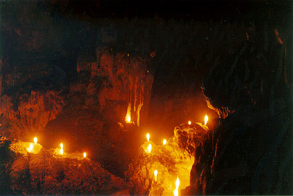 cave candles - Google Search in 2020 | Painting, Candles, Earth