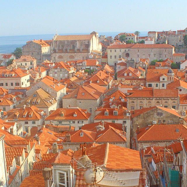 Red tile roofs of Dubrovnik! Croatia Pinterest Dubrovnik and