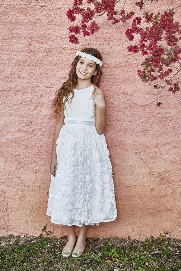 Vestidos de daminhas para casamentos no campo | Vestidos, Wedding ...