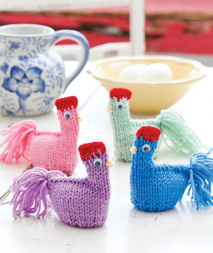 Mama Hen Cozies redheart.com free knit pattern   Knit/Crochet ...