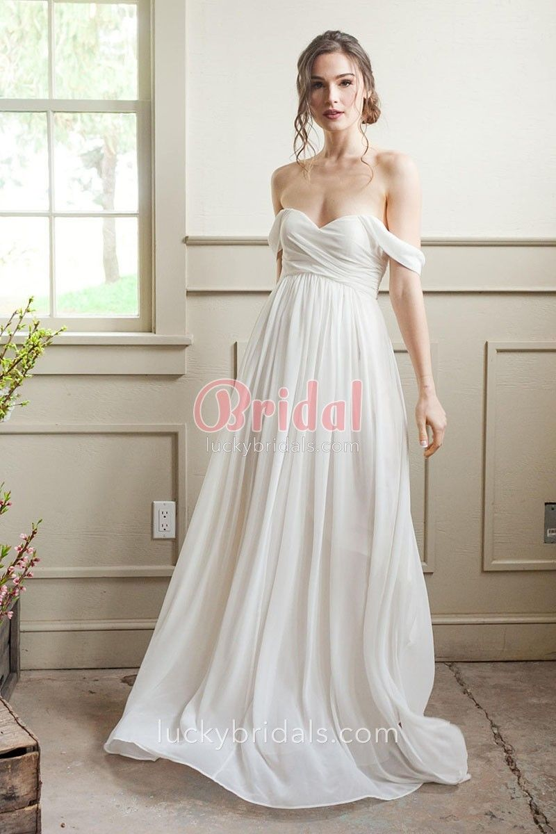 A Line Empire Waist Wedding Dress 51 Off Pbpgi Org