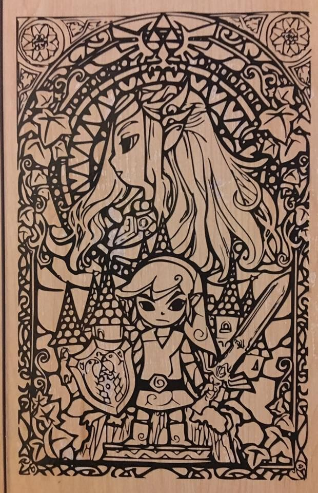 Legend of Zelda decal Cool coloring pages, Coloring