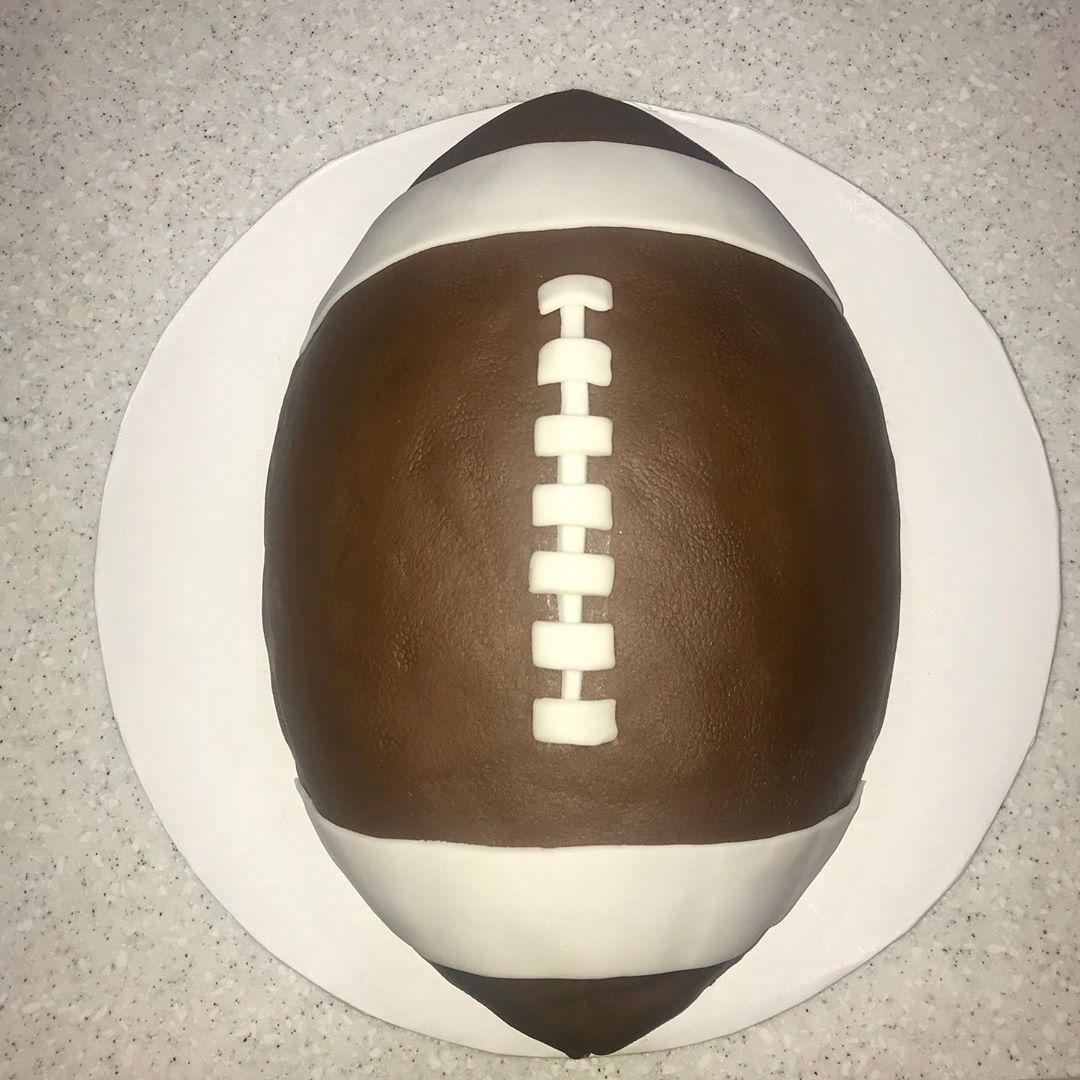 Football Birthday Cake 🏈