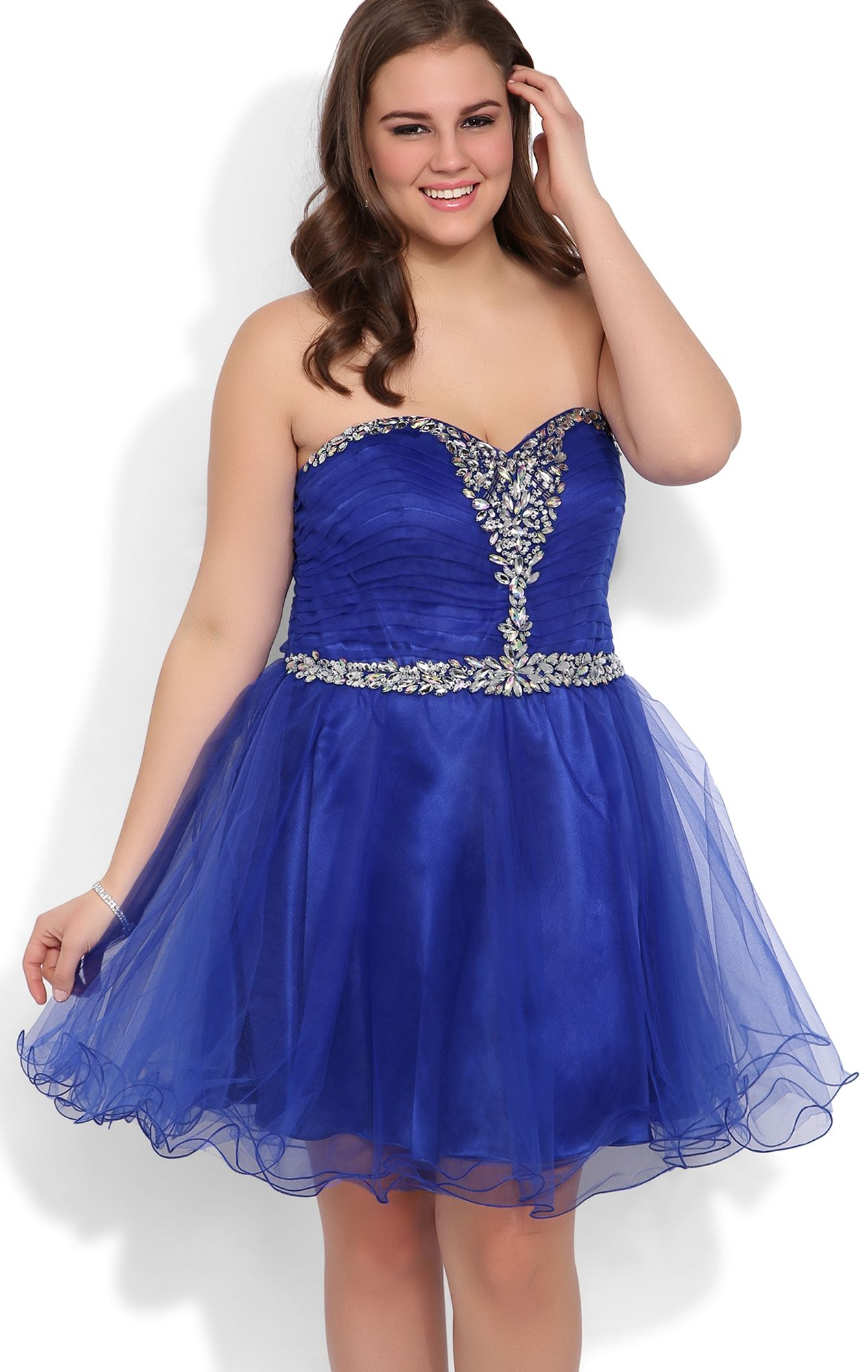 Plus size homecoming dresses blue dress homecoming pinterest