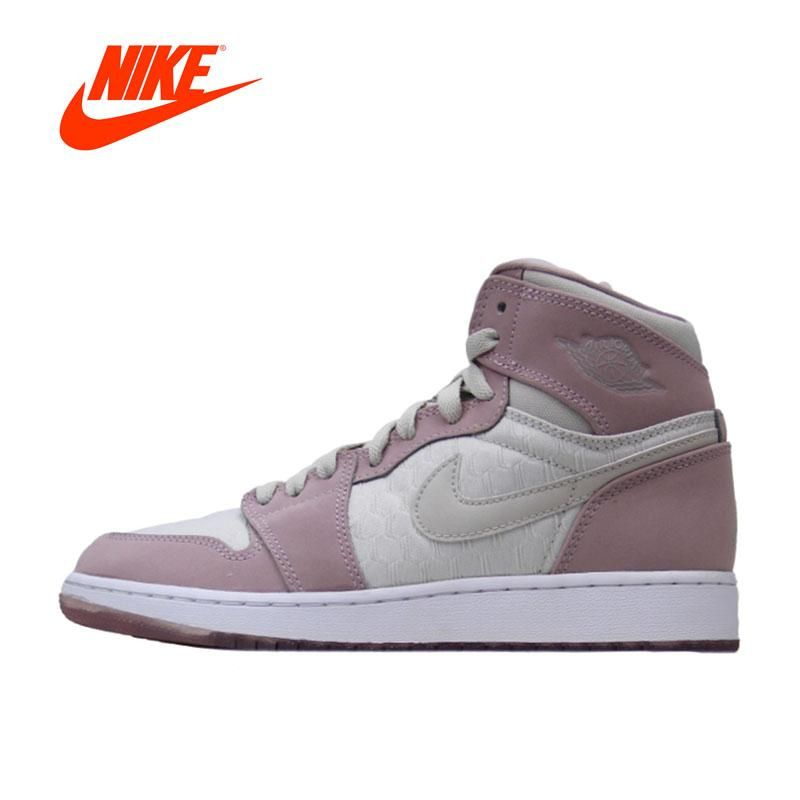the best attitude c33cc 06013 New Arrival Authentic Nike Jordan 1 Retro High GS AJ1 Women s Breathable  Basketball Shoes Sports Sneakers