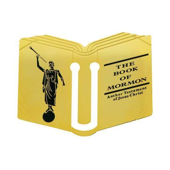 "Bookmark ""Book Of Mormon Book"" C16"