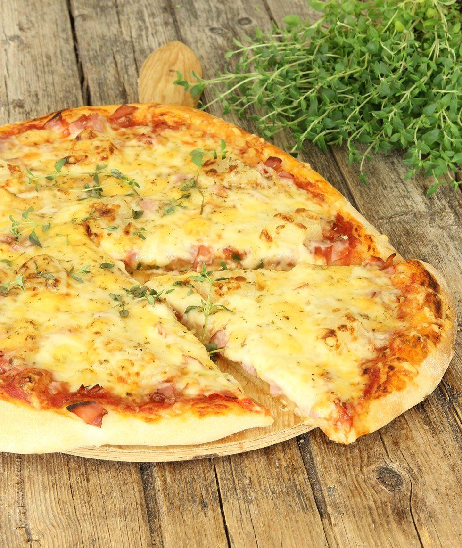 god hemmagjord pizza