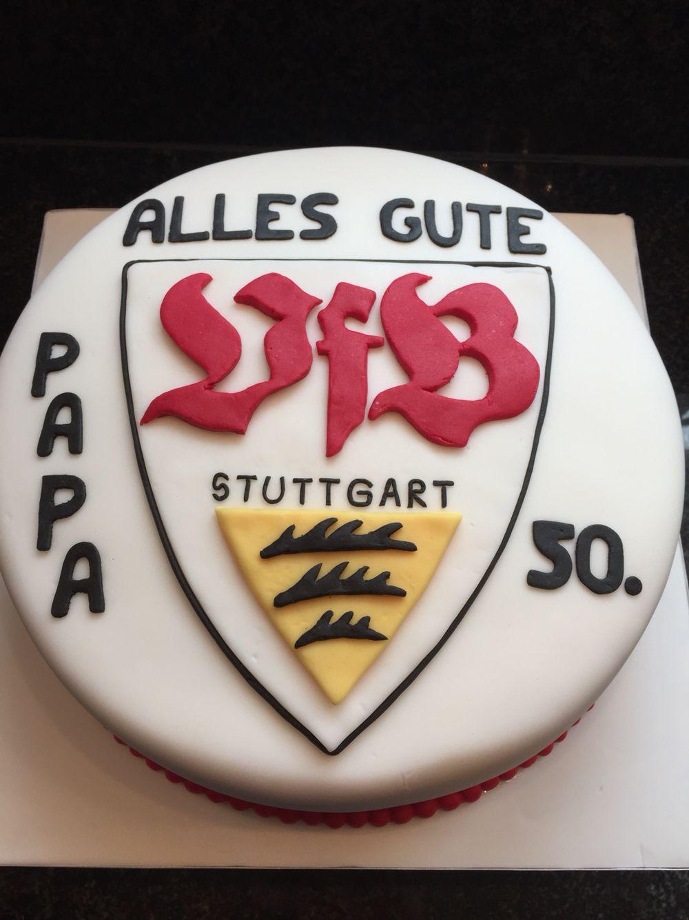 Vfb Stuttgart Birthday Cake Geburtstagstorte Bayern Torte Fondant Torte Geburtstag