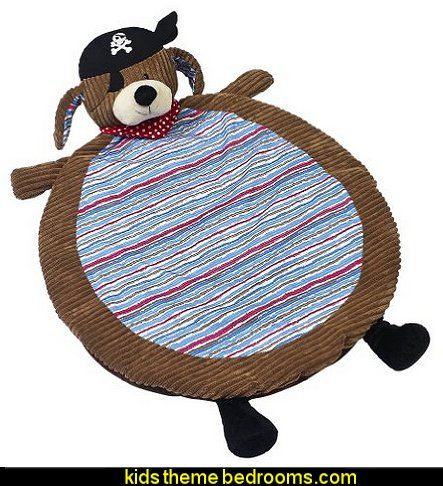 Maison Chic Patch Nap Mat, The Pirate Dog
