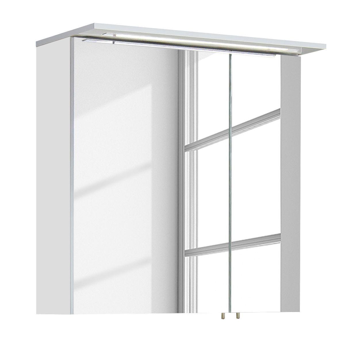 Spiegelschrank Genf Ii In 2020 Spiegelschrank Badezimmer Gunstig Und Waschtisch 80 Cm