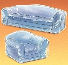 Image Result For Clear Plastic Furniture Covers Sofa
