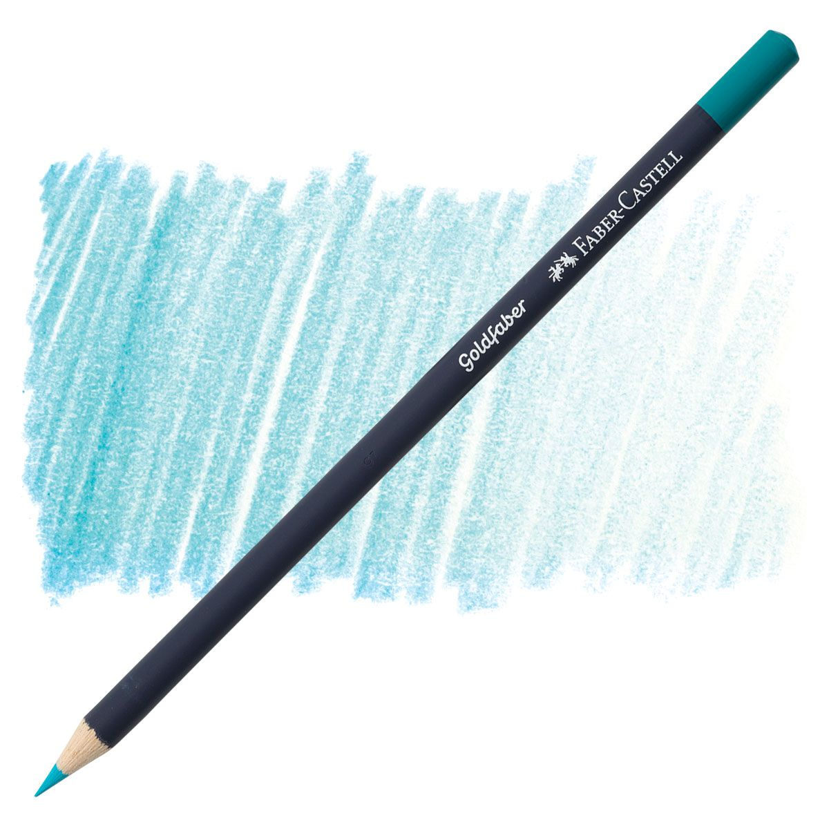 Regular Colored Pencil Light Cobalt Turquoise By Faber Castell