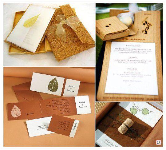 Célèbre faire part automne pochette en sisal bouchon liege | mariage  DT84