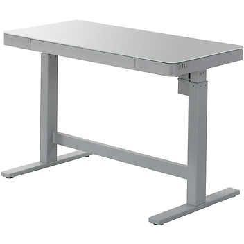 Tresanti Adjustable Height Desk White Adjustable Height Desk