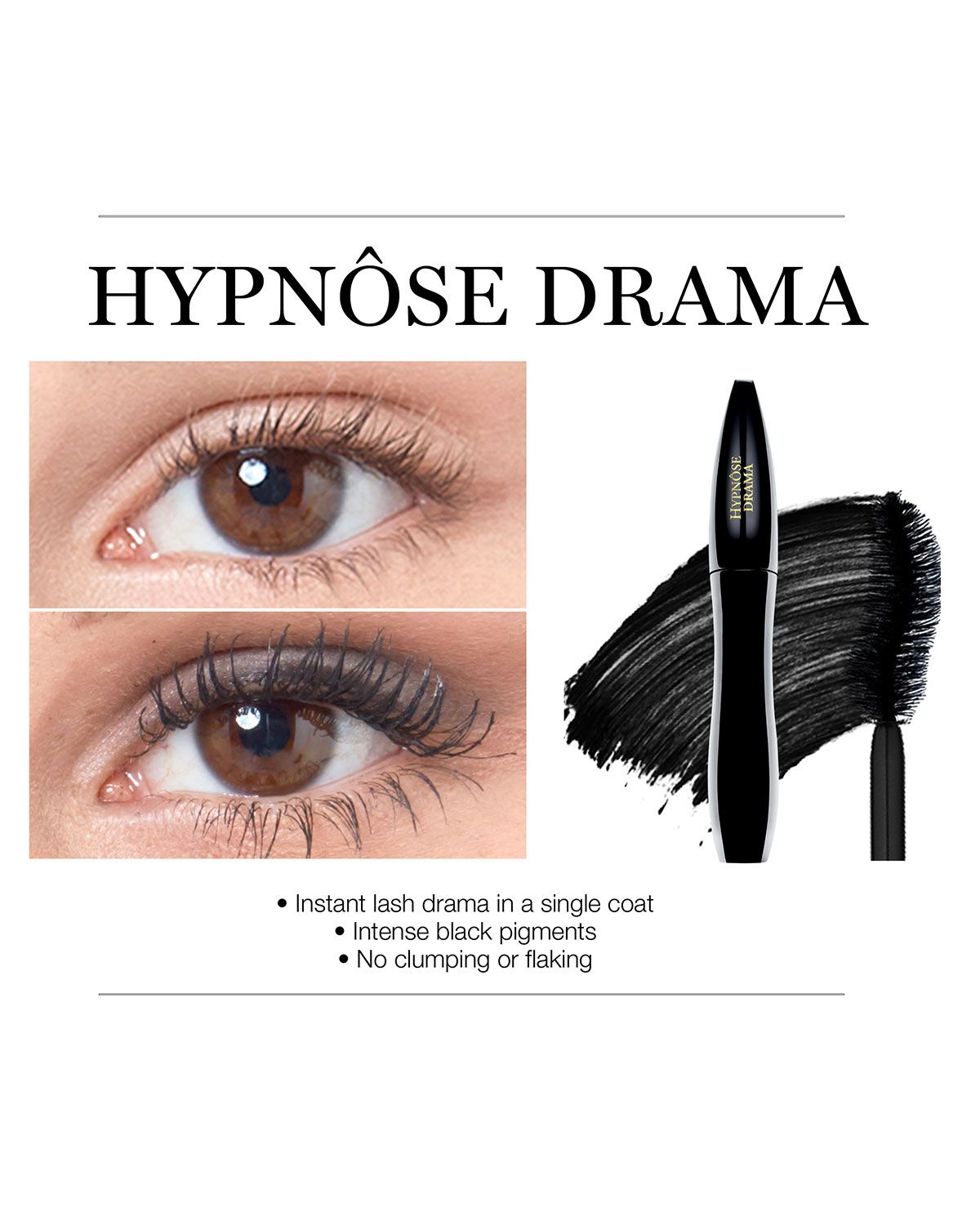 c65d42f1d30 Lancome Hypn&se Drama Instant Full-Volume Mascara | Products ...