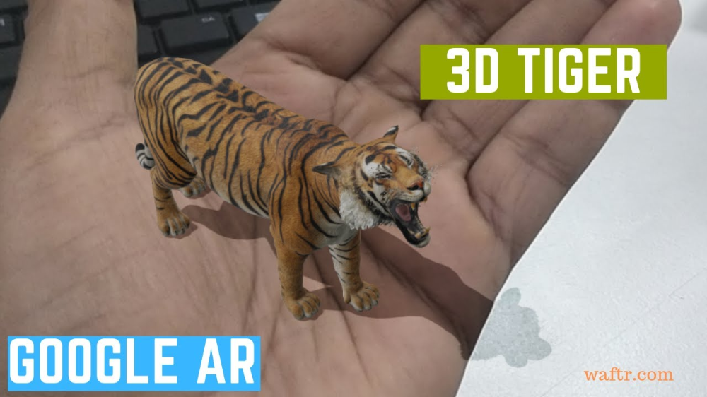 Ar 3d Tiger In Mobile Google Search