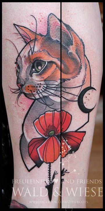 Tattoo by Freulein Fux