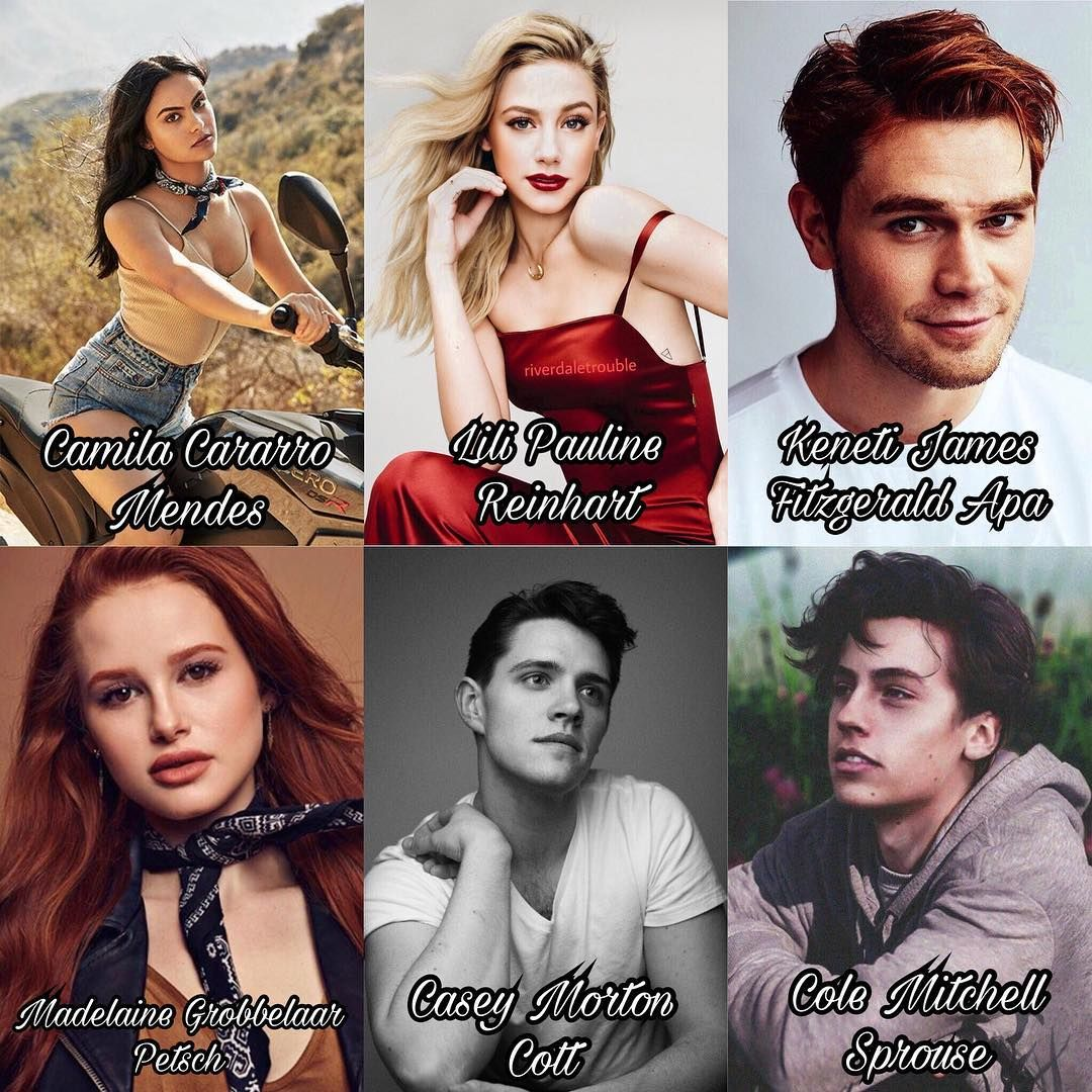 Riverdale Cast Full Names Riverdale And More In 2018 Pinterest
