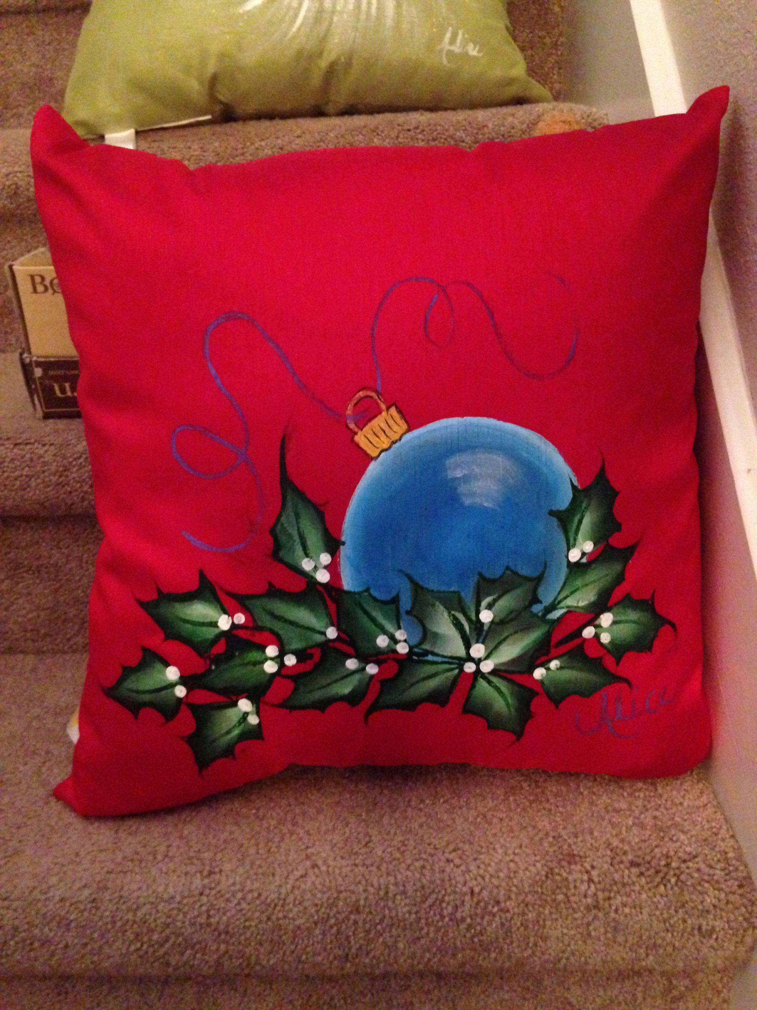Christmas Pillow Christmas Pillow Cover Multiple Sizes JOY PILLOW COVER Joy Wreath Pillow Wreath Christmas Pillow Christmas Decor