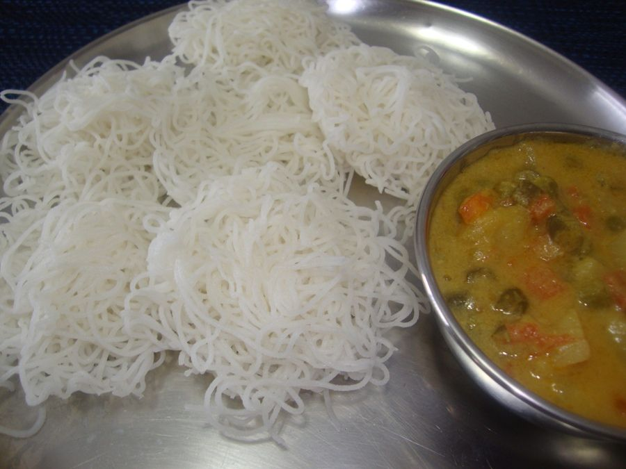 Idiyappam recipe how to make string hoppers junk food idiyappam recipe how to make string hoppers indian breakfastindian food recipesjunk forumfinder Image collections