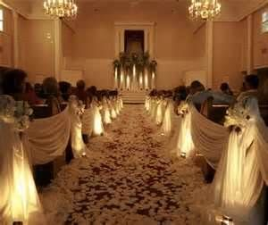 Image Detail for - gold and white wedding decorations