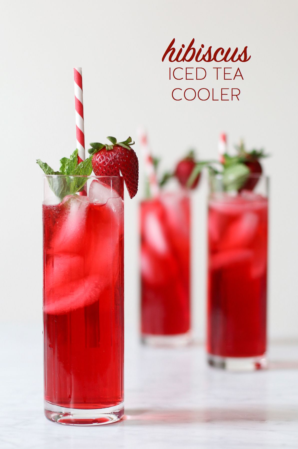 Spoil Mom Mother S Day Hibiscus Iced Tea Cooler Cocktail Recipe