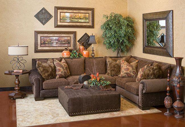 Jackson II Autumn Sectional   Decor, Leather living room ...