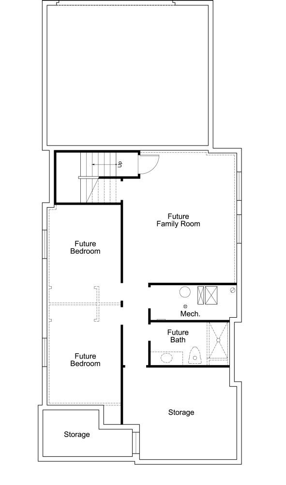 Preston Floorplan For Daybreak Basement Layout Basement Floor